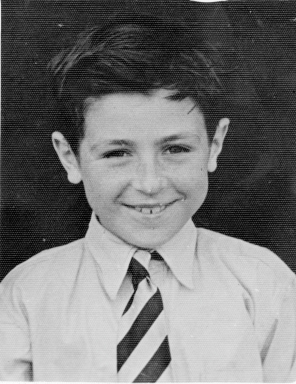 1953 - Bill wearing Priory Grammar School tie